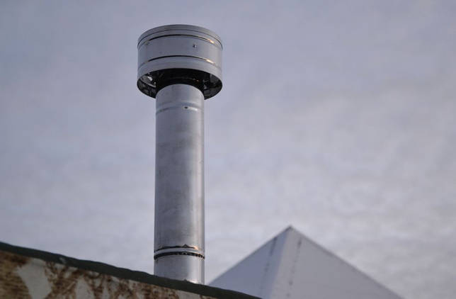 дефлектор тяги дымохода
