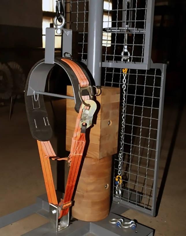 Станок для испытания пожарных поясов