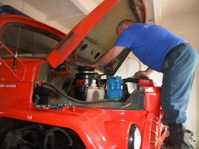 Техническое обслуживание и ремонт пожарных автомобилей: ТО-1,2